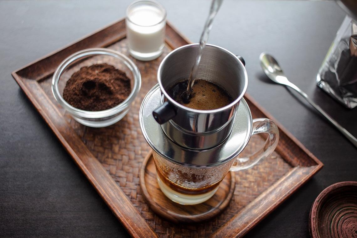 come si realizza il caffè vietnamita