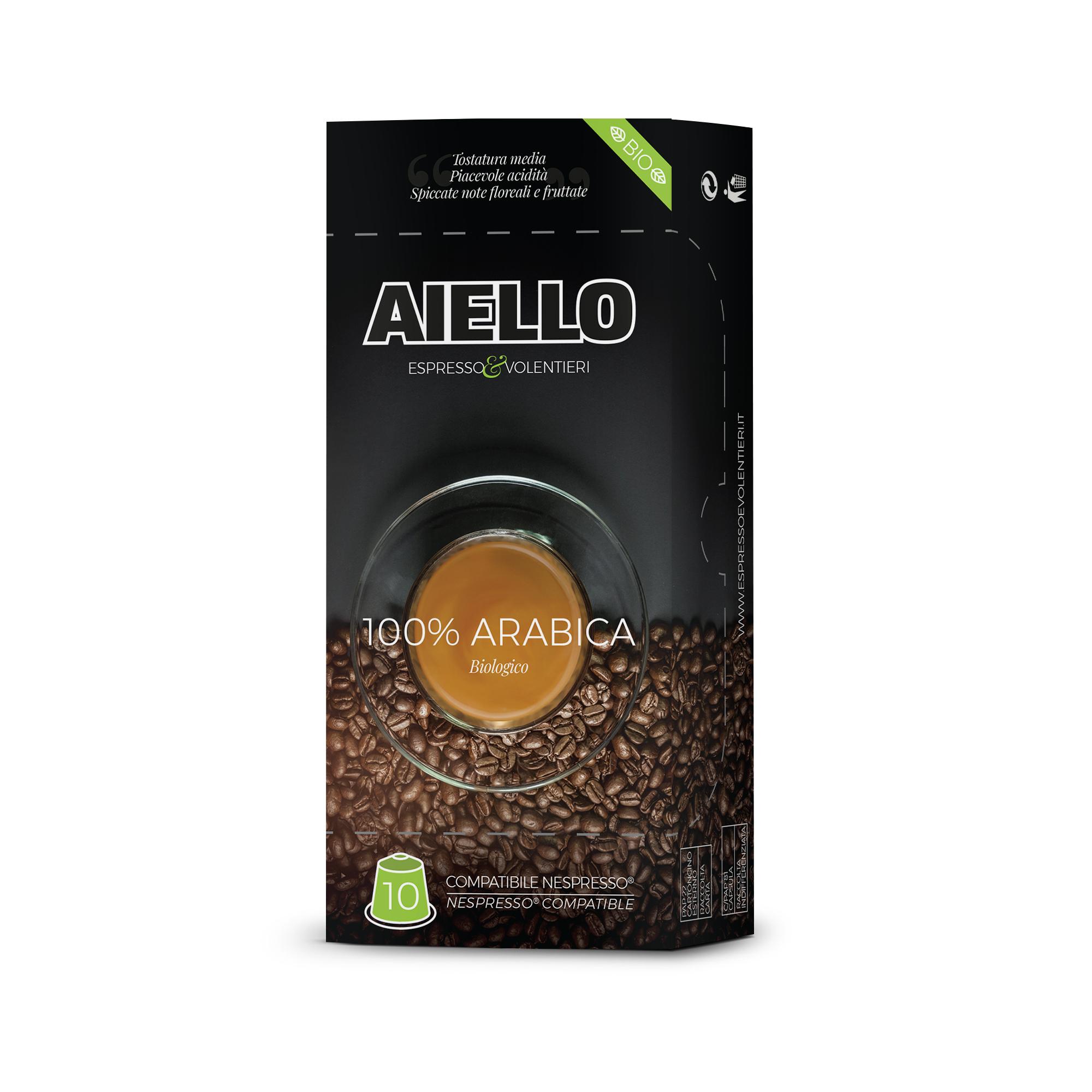 caffè aiello biologico