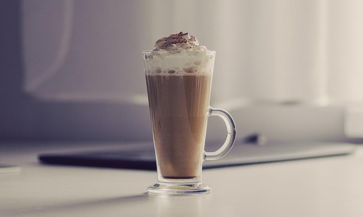 Eiskaffee, bicchiere di caffè alla tedesca
