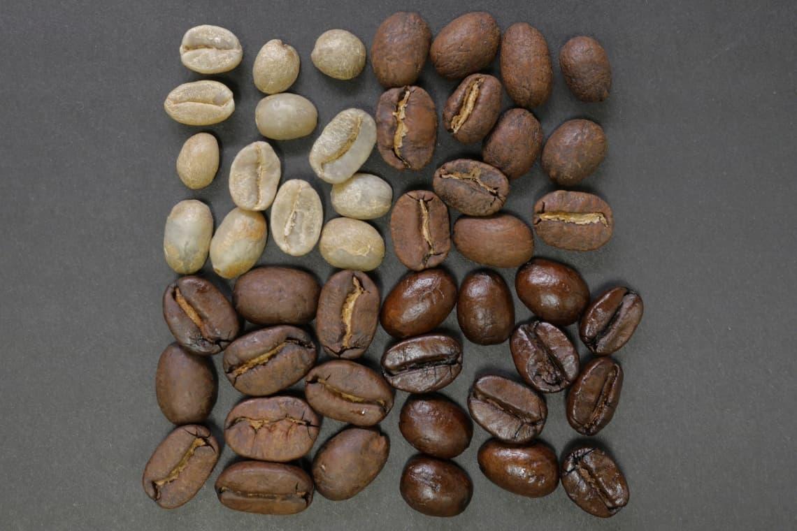chicchi di caffè tipologie