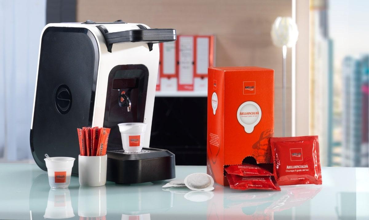 kit macchina cialde caffè aiello