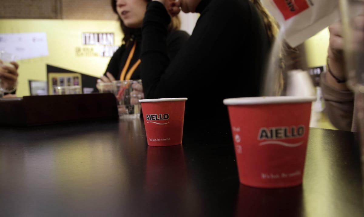 bicchierini Caffè Aiello alla Berlinale 2019