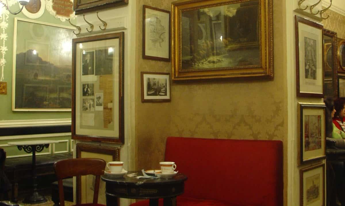 Antico Caffè Greco a Roma