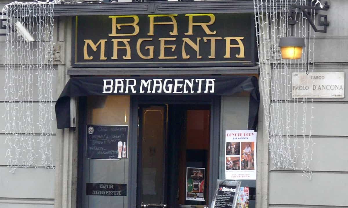 Bar Magenta, Milan's historical café