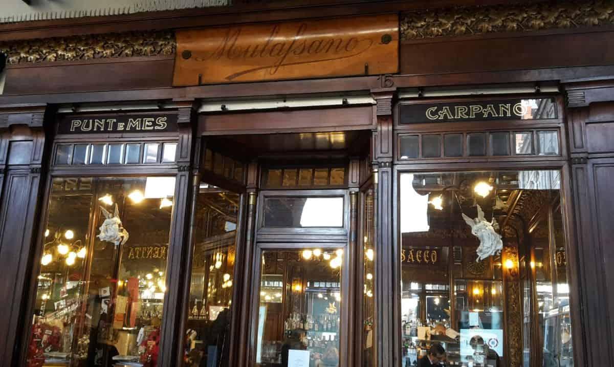Caffetteria storica Mulassano a Torino