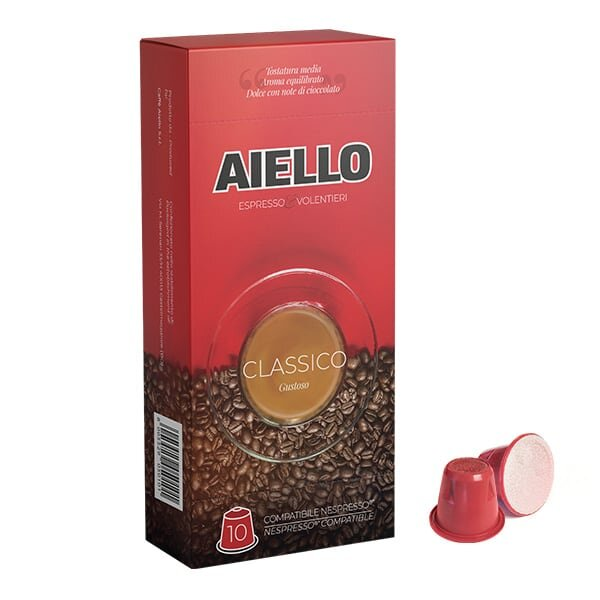 classico italian coffee nespresso compatible capsules