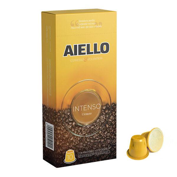 italian coffee intenso nespresso compatible capsules