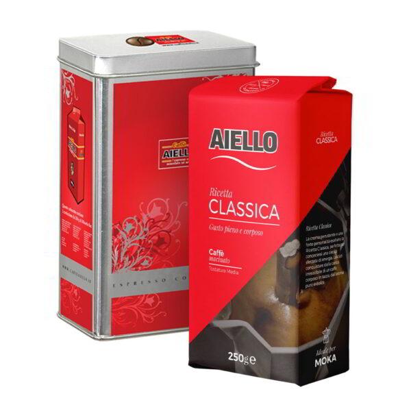 italian ground coffee espresso blend collection aiello