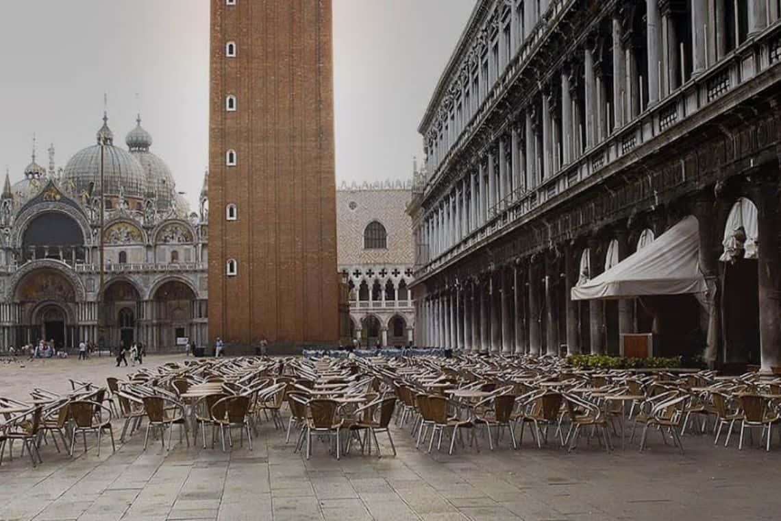 Caffetterie storiche di Venezia in piazza San Marco