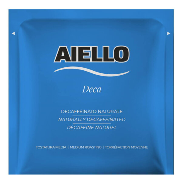italian decaffeinated coffee pods caffè aiello