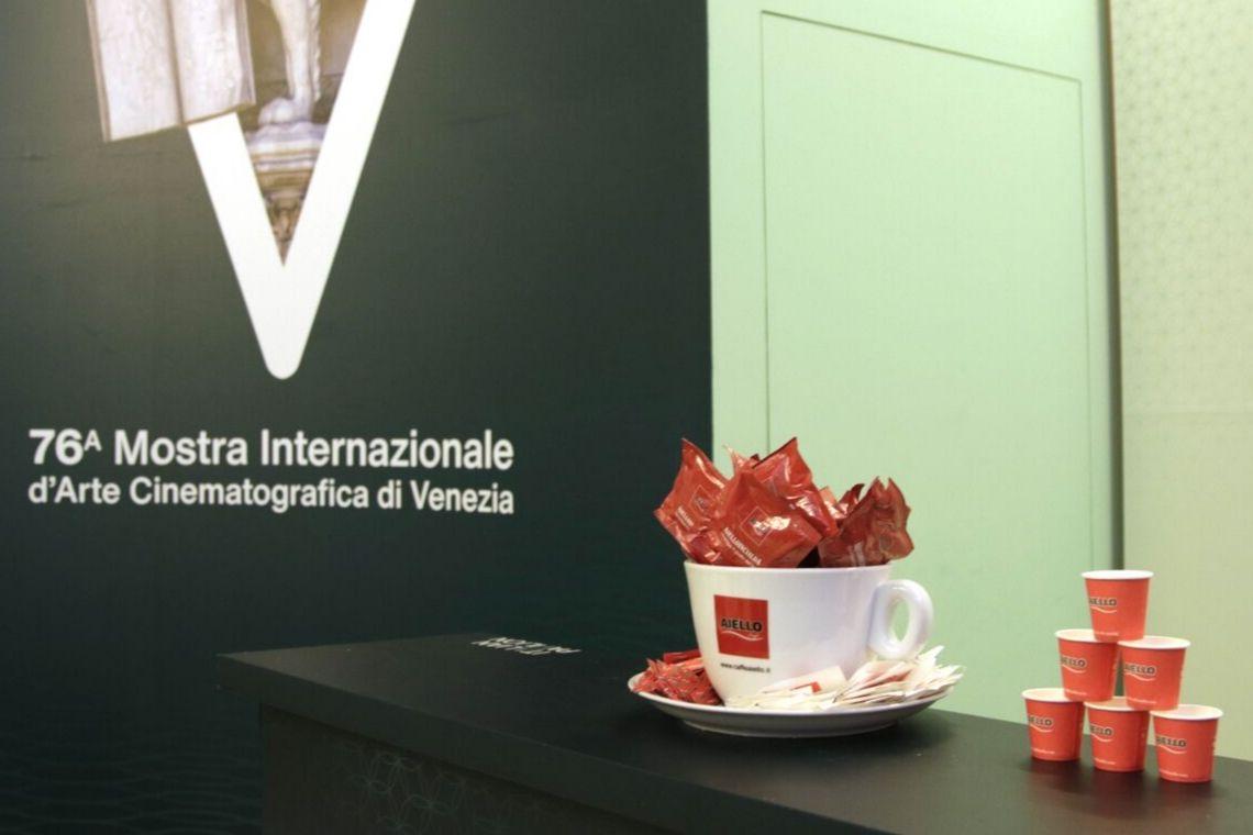 Caffè Aiello sponsor del 76° Festival del Cinema di Venezia 2019