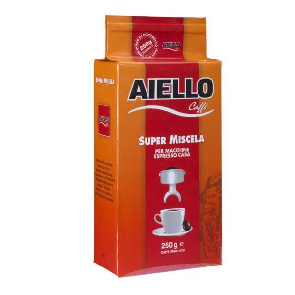 italian ground coffee super miscela aiello