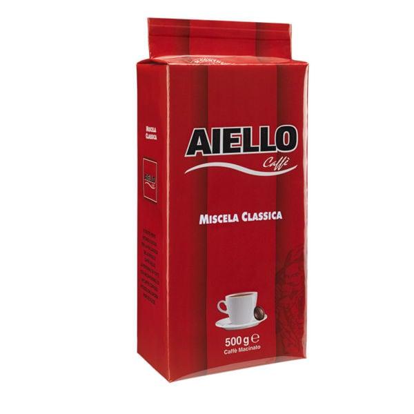 italian ground coffee classic blend aiello 500gr
