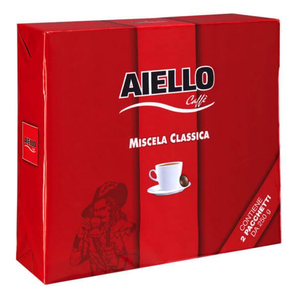 miscela caffè classica aiello bipack