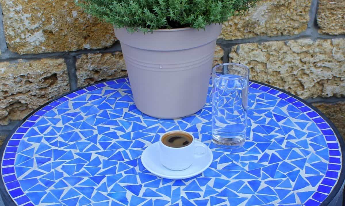 tazzina di caffè greco