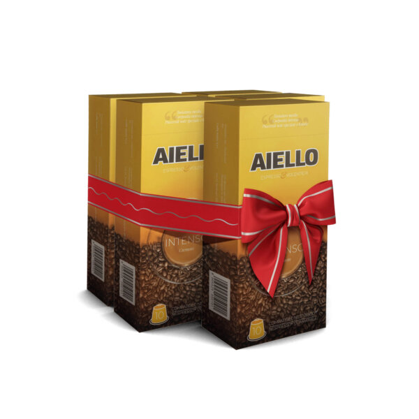 italian coffee capsules intenso aiello
