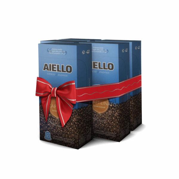 italian decaffeinated coffee capsules aiello