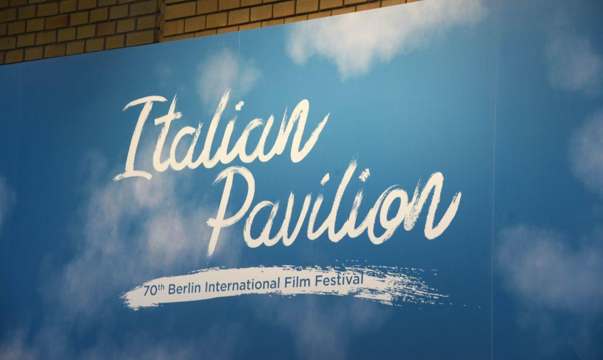 Logo dell'Italian Pavilion al 70° Festival del Cinema di Berlino