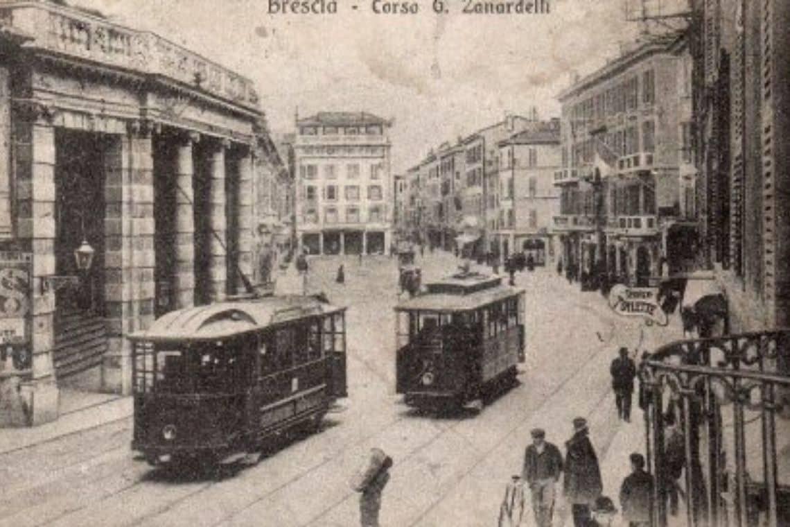 Caffetteria storica di Brescia in corso Zanardelli