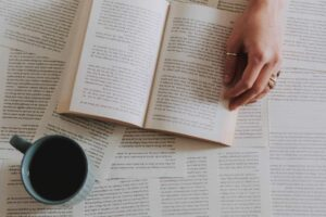 libro con frasi e aforismi sul caffè