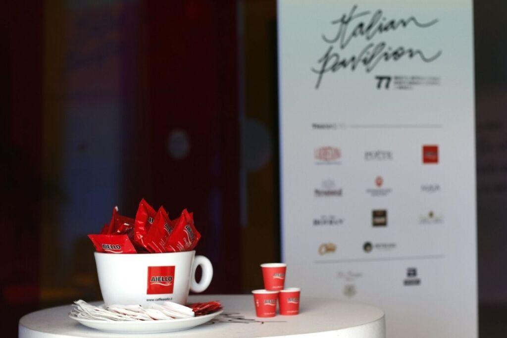Caffè Aiello alla Mostra del Cinema di Venezia 2020