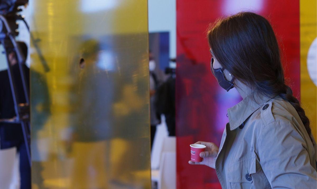 pausa caffè al Festival di Venezia 2020