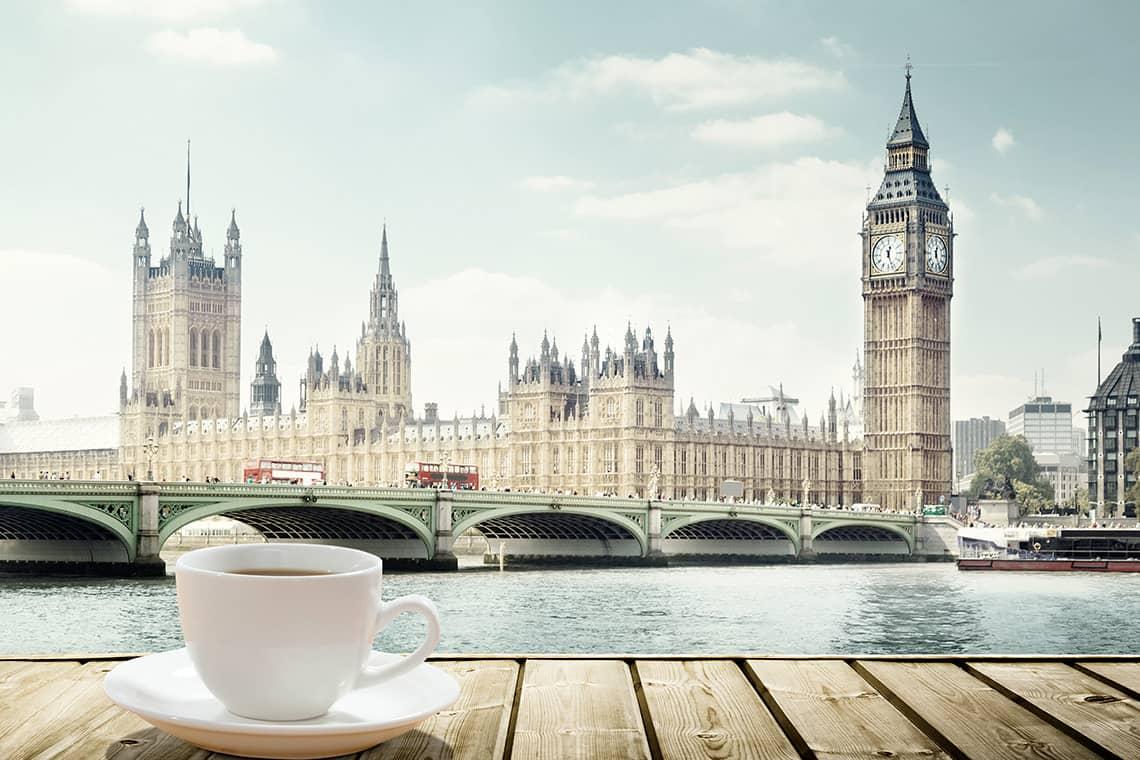 caffetterie storiche a Londra