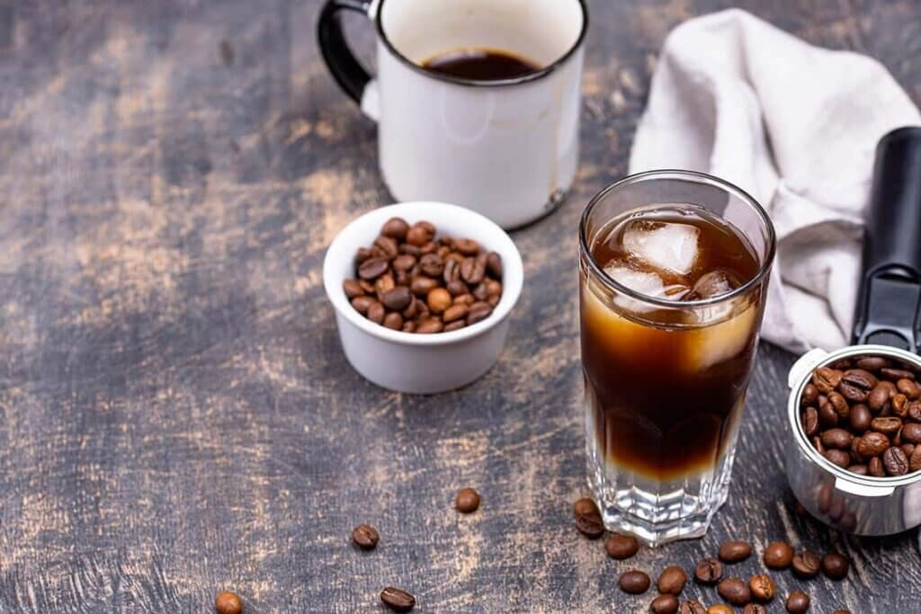 preparazioni fredde al caffè