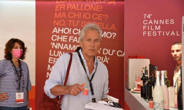 Francesco Rutelli beve Caffè Aiello al Festival di Cannes